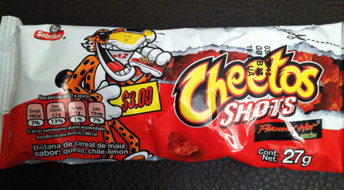 Flamin' Hot Limon Cheetos Shots