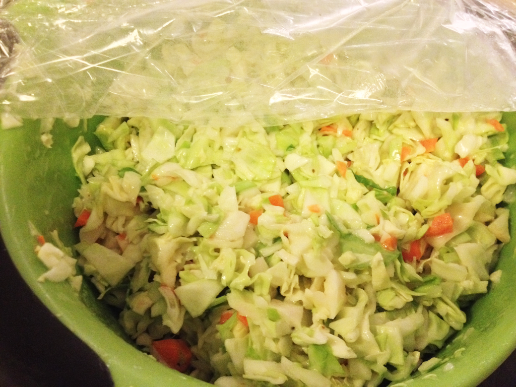 KFC Coleslaw Recipe coleslaw after refrigeration