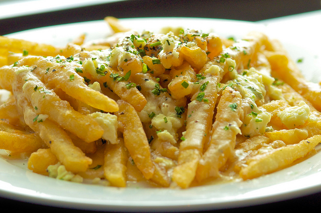 Gorgonzola-fries
